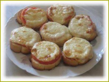 Простые горячие бутерброды