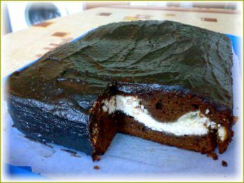 Шоколадный торт быстро