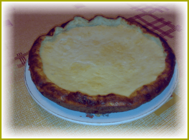 Рецепт сырного пирога