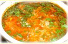 Суп харчо простой