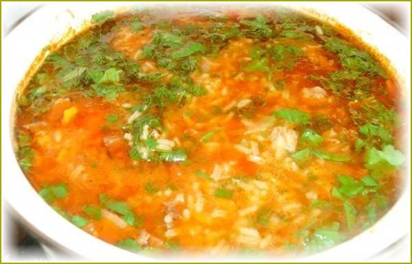 супы на говяжьем бульоне рецепты с фото простые и вкусные