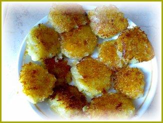 Картофельные галушки постные