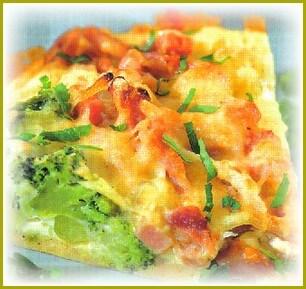 Простой рецепт запеканки с брокколи