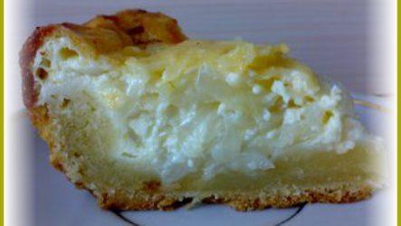 Простой луковый пирог