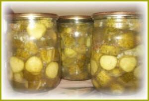 Маринованные огурцы с горчицей в зернах