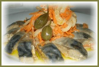 skumbriia marinovannaia +v domashnikh usloviiakh