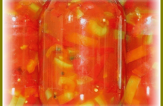 Лечо из помидор и сладкого перца на зиму