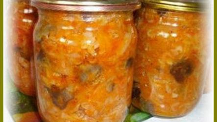 Простой рецепт вкусной солянки с грибами на зиму