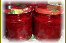Обалденный салат из свеклы и помидоров на зиму