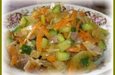 Салат с маринованными опятами — захлебнуться слюной