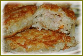 zrazy-kartofelnye-s-farshem-na-skovorode