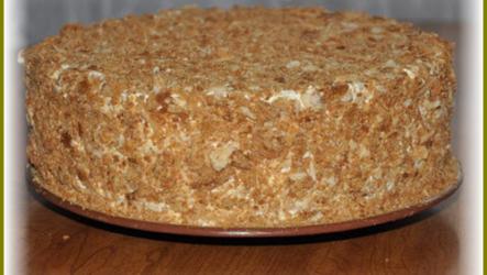 Самый быстрый и вкусный торт Наполеон