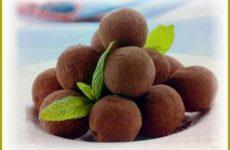 Рецепт конфет в домашних условиях