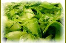 Рецепт быстрых маринованных кабачков