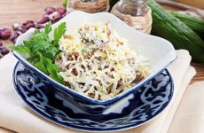 Салат «Узбекистан» рецепт классический