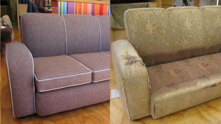 Основные этапы самостоятельного ремонта и реставрации диванов