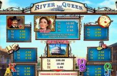 Основные бонусы игрового автомата River Queen из казино Вулкан