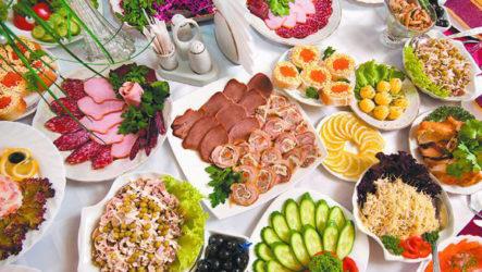 Популярные рецепты блюд на праздник