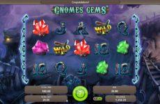 Как играть в Вулкан казино онлайн на реальные деньги на примере игры Gnomes Gems
